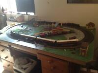 Hornby Train layout