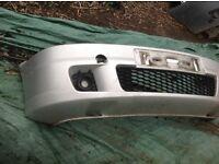 Vauxhall Zafira GSI front bumper & fogs.