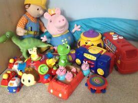 Large bundle of toddler toys