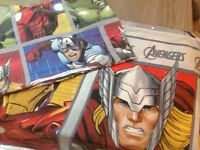 Avengers DOUBLE bed set