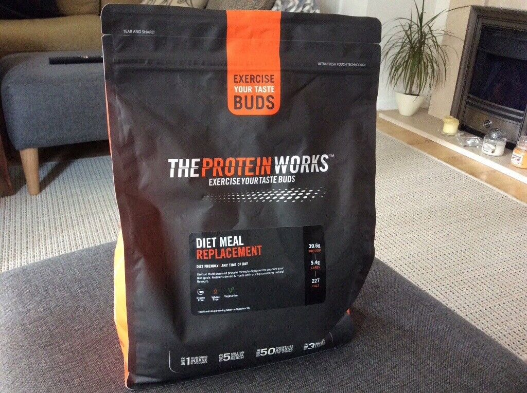 The Protein Works Diet Meal Replacement 2kg Banana Smooth In Royal Wootton Bassett Wiltshire Gumtree