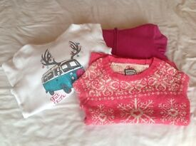girl's clothes FatFace and John Lewis jumpers age 12