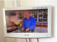 TV, White, Samsung, 22 inch