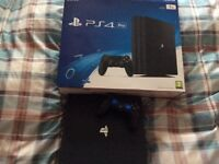 "For sale 2tb PS4 console + 24"" gaming monitor+ games"