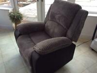 Electric reclining chair RRP £399 for sale for £175 not used