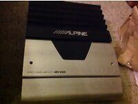 Alpine MRD-M300 mono power car amplifier