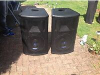 Mackie S500 speakers made in italy by Rcf