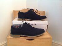Blue suede shoes size 43