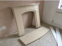 Marble effect surround