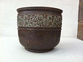 Copper Plant Pot