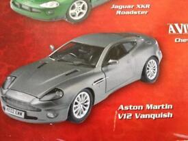 007 Aston Martin on stand