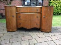 Matching 1960's Double wardrobe and dressing table