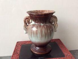 Rarely Flambé Glaze German Vase