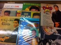 Elvis Presley LP's & 45's available from Heart of the Valleys Record Store - Blackwood Indoor Market