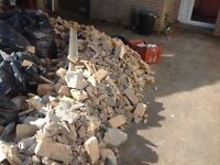 Free brick rubble in hainford