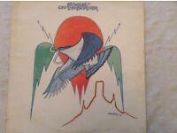 Two Eagle vinyl Albums