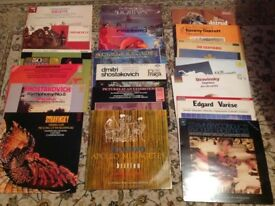 17 VARIOUS RECORDS PLUS 1 BOX SET