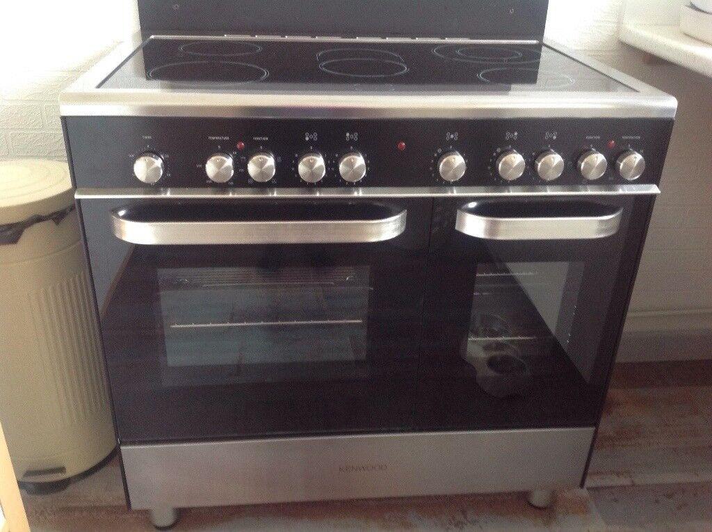 Kenwood double ceramic oven