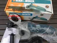 Black & Decker 680W grinder. Never used still in original packaging