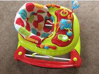 Mothercares Car Baby Walker