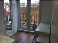SUPERB DOUBLE BEDROOM WITH BALCONY TO LET TO ONE PERSON IN WEST EALING HIGH STREET Post code:W139HY
