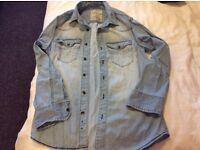 Boys denim shirt 9-10 years old for £3