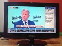 Samsung 32 inch slim full HD LCD TV with Freeview, USB, good condition