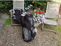 GOLF CLUBS GRAHAM TONGE G.T. COMPLETE SET