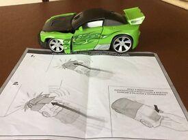 Hot Wheels Crasher Bumper Buster - Green
