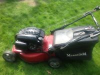 Lawnmower mountfield S464 PD self propelled mower 4 speed!