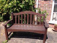 Wooden garden seat , hardwood