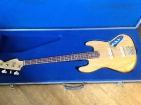 Beautiful Custom jazz bass