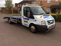 Ford transit recovery truck 2010