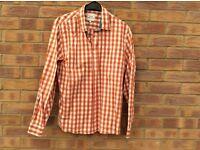 Orange checked 'Easy'shirt