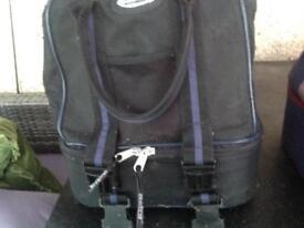 Berta Bowling bag and Bowling balls Rinkmaster x4