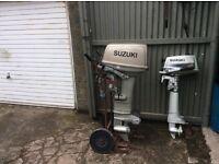 Suzuki DT 30hp & Suzuki DT 4hp outboard engines