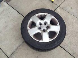 Vauxhall wheels and Tyers