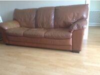 2 three seater sofas dor sale