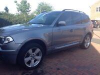 BMW X3 diesel sport 05 plate