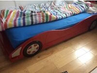 Racing Car Bed. Full single size