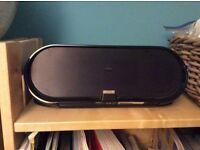 Philips docking speaker DS7650 - RECHARGABLE (iPhone, iPod, , 151 x 80 x 39mm