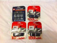 6 X WILSON REPLACEMENT GRIPS (TENNIS)