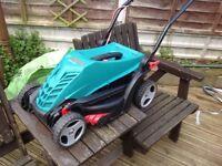 bosch 34R electric lawn mower
