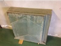 38 Used Panes of Glass suitable for Greenhouse or similar