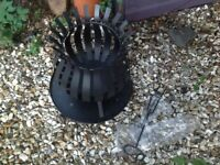 Metal brazier - never used