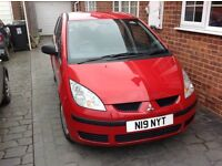mitsubishi Colt 1.1 petrol manual low mileage two lady owners