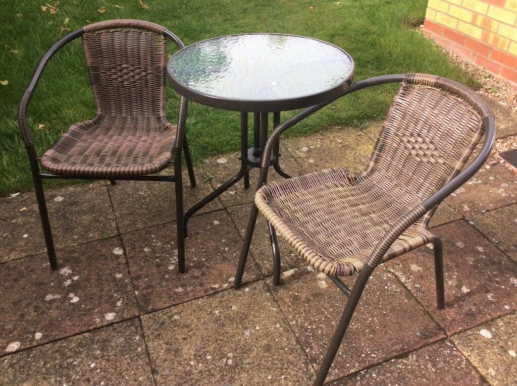 Outdoor Table + 2 Chairs for sale £30