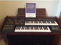 Yamaha Electone MC-400 twin manual electric organ