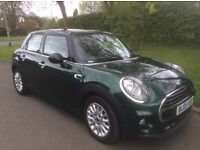2015 MINI COOPER 1.5D HATCH (65) 5DOOR. 6630 MILES. CHILI PACK. ONE DAY OFF BEING 2016!