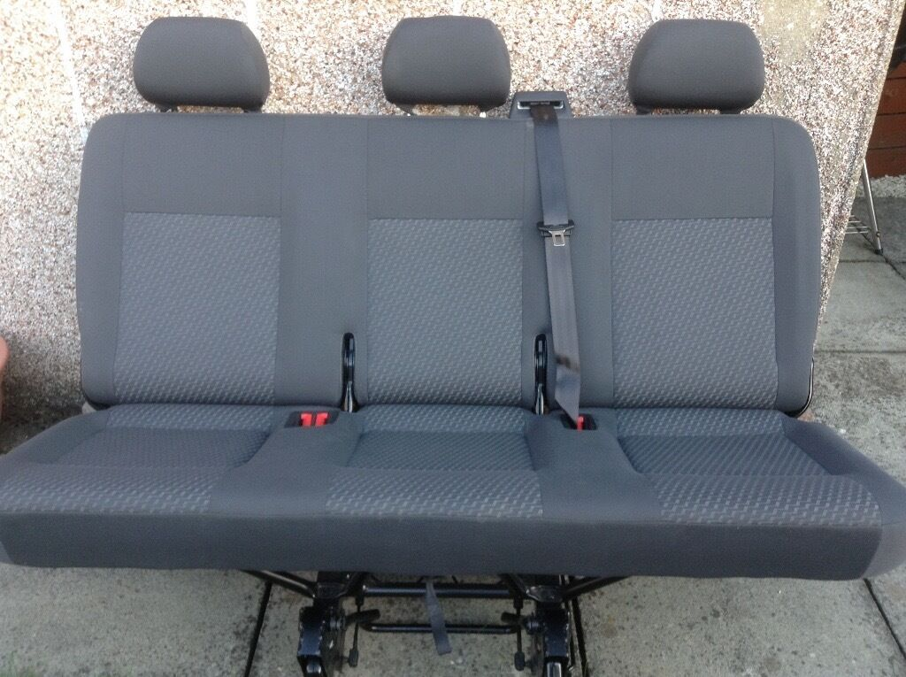 Rear Bench Seat ~ Vw t transporter seats rear quick release bench seat